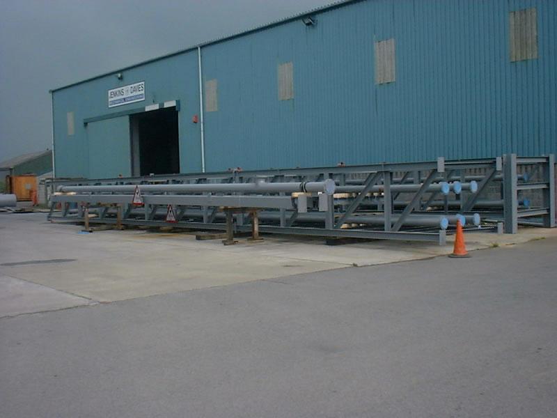 Fabrication Pipe Bridge