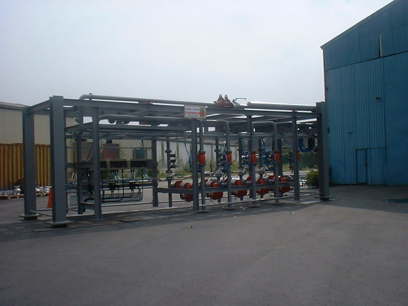 Fabrication Skid Unit