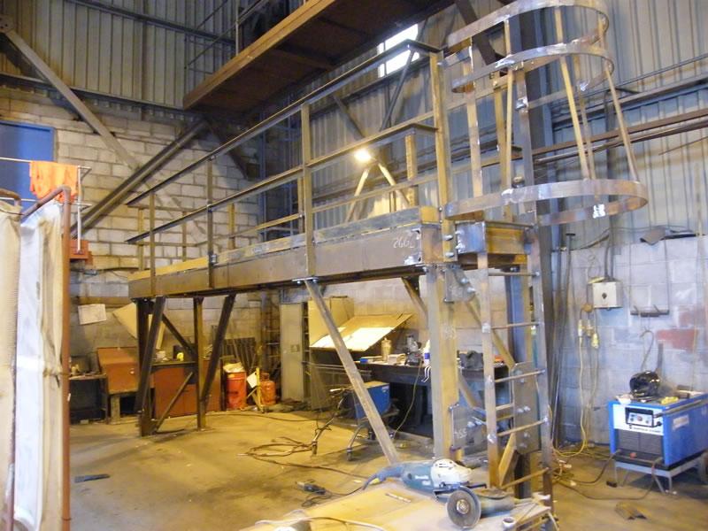 Fabrication walkway
