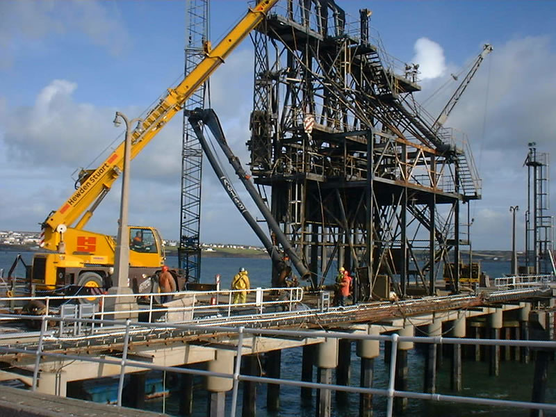 Installation Jetty Loading