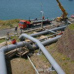 Installation Jetty Pipeline